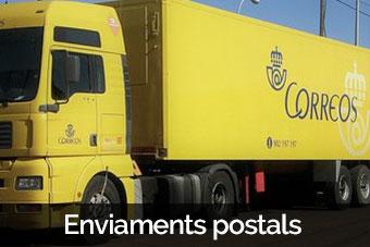 enviaments postals