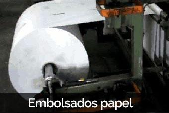 embolsado papel