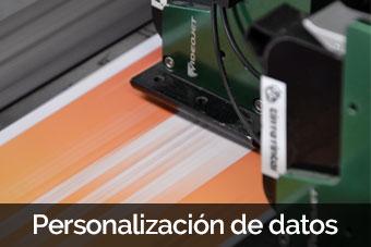 personalizacion de datos